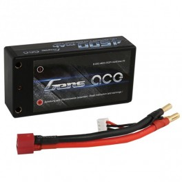 Gens Ace 4600mAh 7,4V 60C 2S2P Hard Case Short