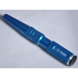 RCCARS Body Reamer 4-12mm multi level Blue